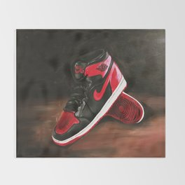 Air Jordans Throw Blanket