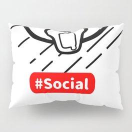 Kuma Social Reality Pillow Sham