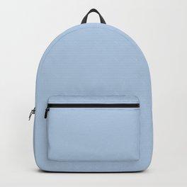 Pastel Blue Solid Color Inspired by Valspar Utterly Blue 4006-7B Backpack