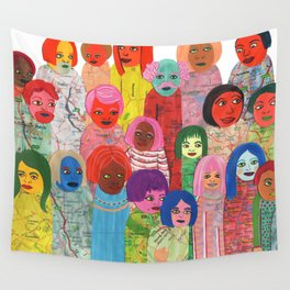 All the People Wall Tapestry