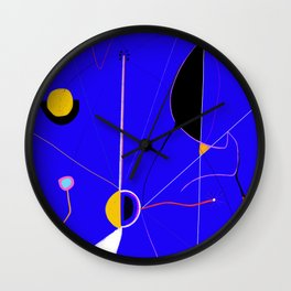 A JOAN MIRO YOU CAN ACTUALLY AFFORD (The Wound) Wall Clock