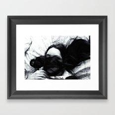 Hidden Thoughts  Framed Art Print
