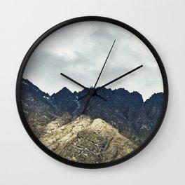 Shadow Mountain Wall Clock