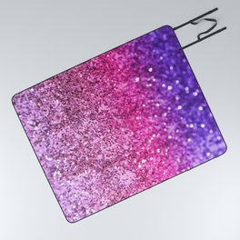 Unicorn Girls Glitter #3 #shiny #decor #art #society6 Picnic Blanket