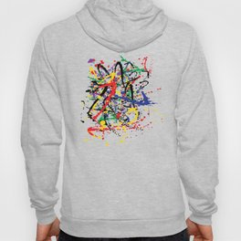 Pollock Remembered by Kathy Morton Stanion Hoody