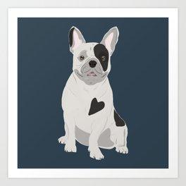 Dog Collection: French Bulldog Art Print