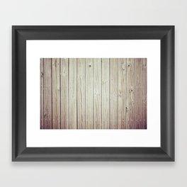 Wood Framed Art Print