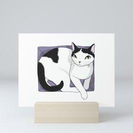 If It Fits, Cat Sits Mini Art Print