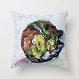Sleeping Dog_3 Throw Pillow