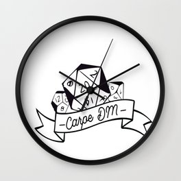 Carpe DM Wall Clock
