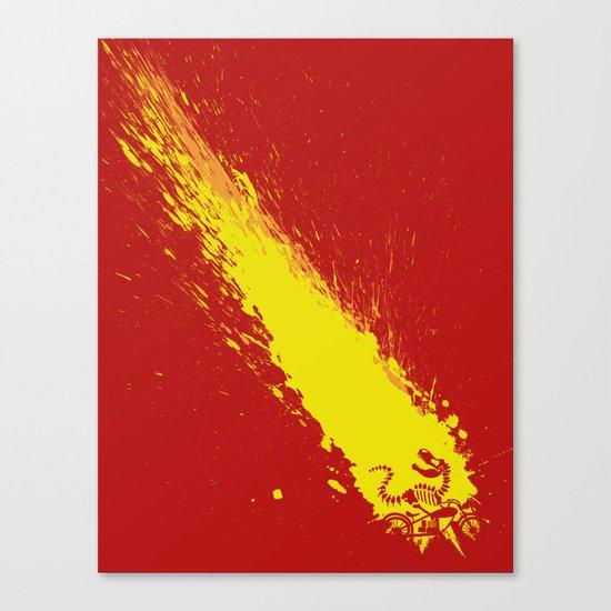 Meteor Ride Canvas Print