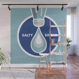 Salty Sweat Wall Mural