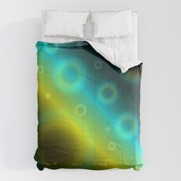 Bubbles Abstract Background G115 Comforters