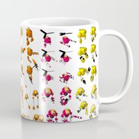 robots Mugs featuring Robots by Artysmedia