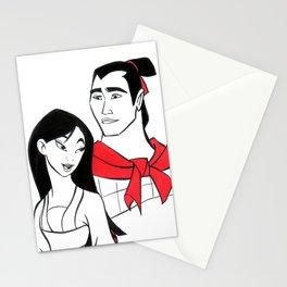 Mulan & Shang Stationery Cards
