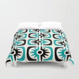 Mid Century Modern Big Bang 3 Duvet Cover