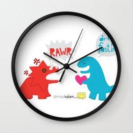 Di-NO, I'm Fasting (Don't Be Angry) Wall Clock