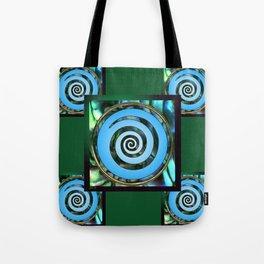 Paua Koru 2 Tote Bag