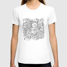 Newborn astronaut T-shirt