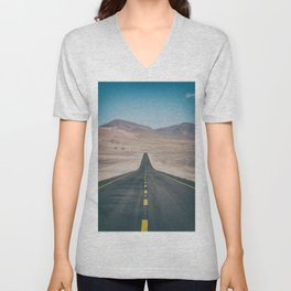 Long Road Unisex V-Neck
