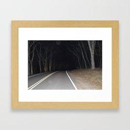 Endless Road Framed Art Print