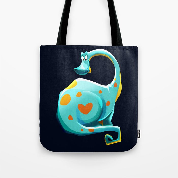 Dino Doodle Tote Bag