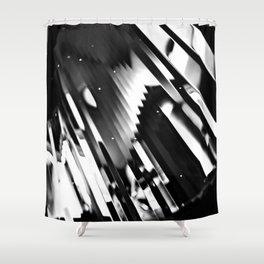 Meteor Shower Shower Curtain