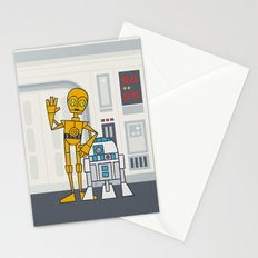 EP4 : C3PO & R2D2 Stationery Cards