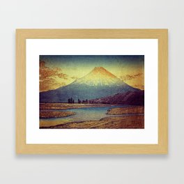 Magic Hour at Danesari Framed Art Print