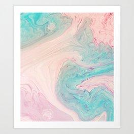 Marble No. 9 Art Print
