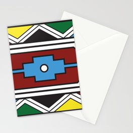 Ndebele Print Stationery Cards