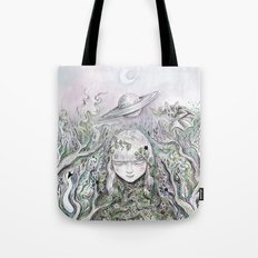 Mother Earth was a child once Tote Bag