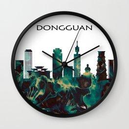 Dongguan Skyline Wall Clock