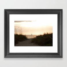Spectacle Framed Art Print