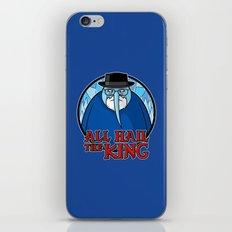 The King of Ice iPhone & iPod Skin