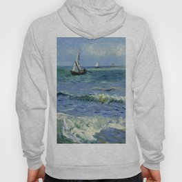 "Vincent Van Gogh ""The Sea at Les Saintes-Maries-de-la-Mer"" Hoody"