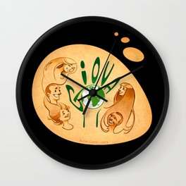 Around the world (Giova) Wall Clock