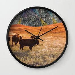 Future's Past Wall Clock