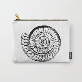 Nautilus Seashell Carry-All Pouch