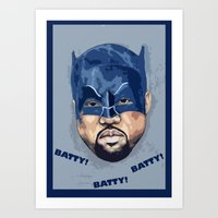 Bat-Ye Art Print