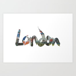 London #4. London (the) Art Print