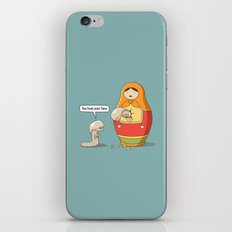 You took your time iPhone & iPod Skin
