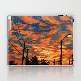 Street Meets Sky  Laptop & iPad Skin