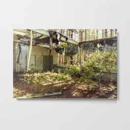 """The Secret Garden""  Metal Print"