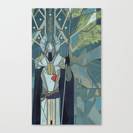 White City Guardian Canvas Print