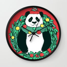 Beary Christmas Wall Clock