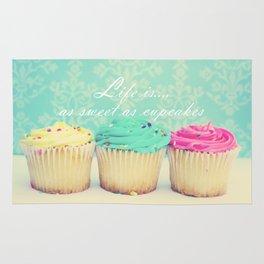 Life is as Sweet as Cupcakes Rug