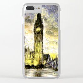 Westminster Van gogh Clear iPhone Case