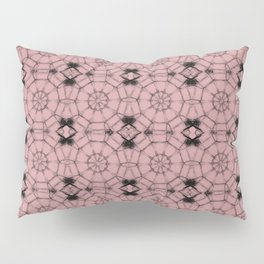 Bridal Rose Pinwheels Pillow Sham
