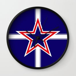 Southern Cross flag  Wall Clock